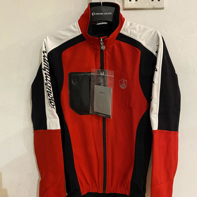 Campagnolo Thermo Jersey Red/Blk/Wht XL