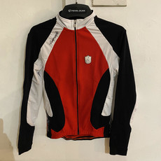 Campagnolo Lightweight LS Jersey Wht/Red M