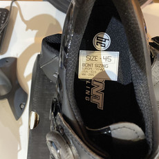 BONT Riot MTB+ BOA Cycling Shoe: Euro Wide 45 Black