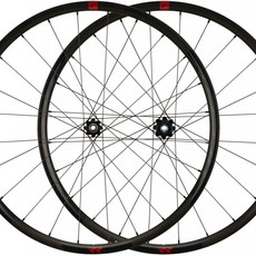 fulcrum Fulcrum Rapid Red 5 DB Wheelset - 700, 12/15x100/142mm, Center-Lock, XDR, Black, 2-Way Fit