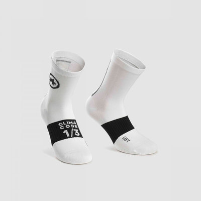 assos Assos Summer Sock Holy White - Size: 1 (39-42)