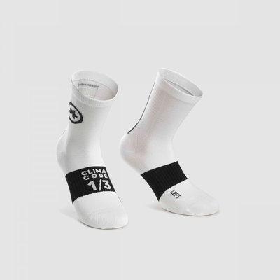 assos Assos Summer Sock Holy White - Size: 2 (43-46)
