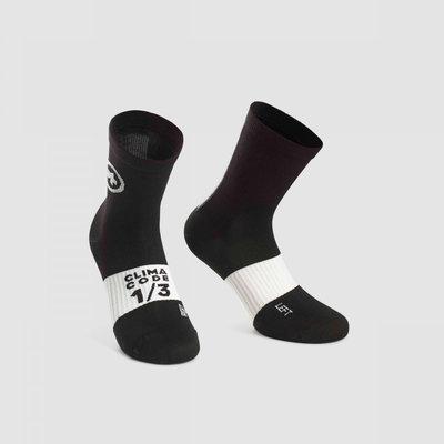 assos Assos Summer Sock Black Series - Size: 1 (39-42)