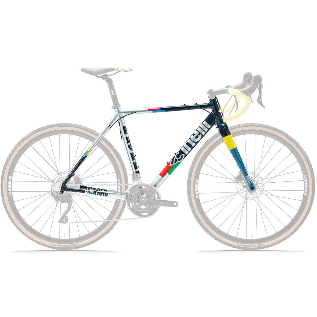 Cinelli Zydeco Full Colour Frameset Large 56cm