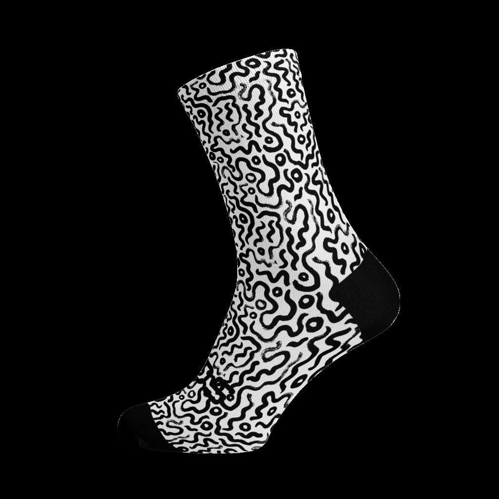Sox Footwear Sox Footwear Scribble Socks M