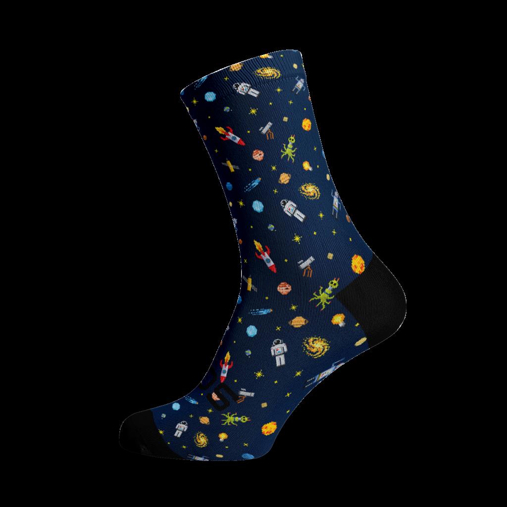 Sox Footwear Sox Footwear Space Socks L