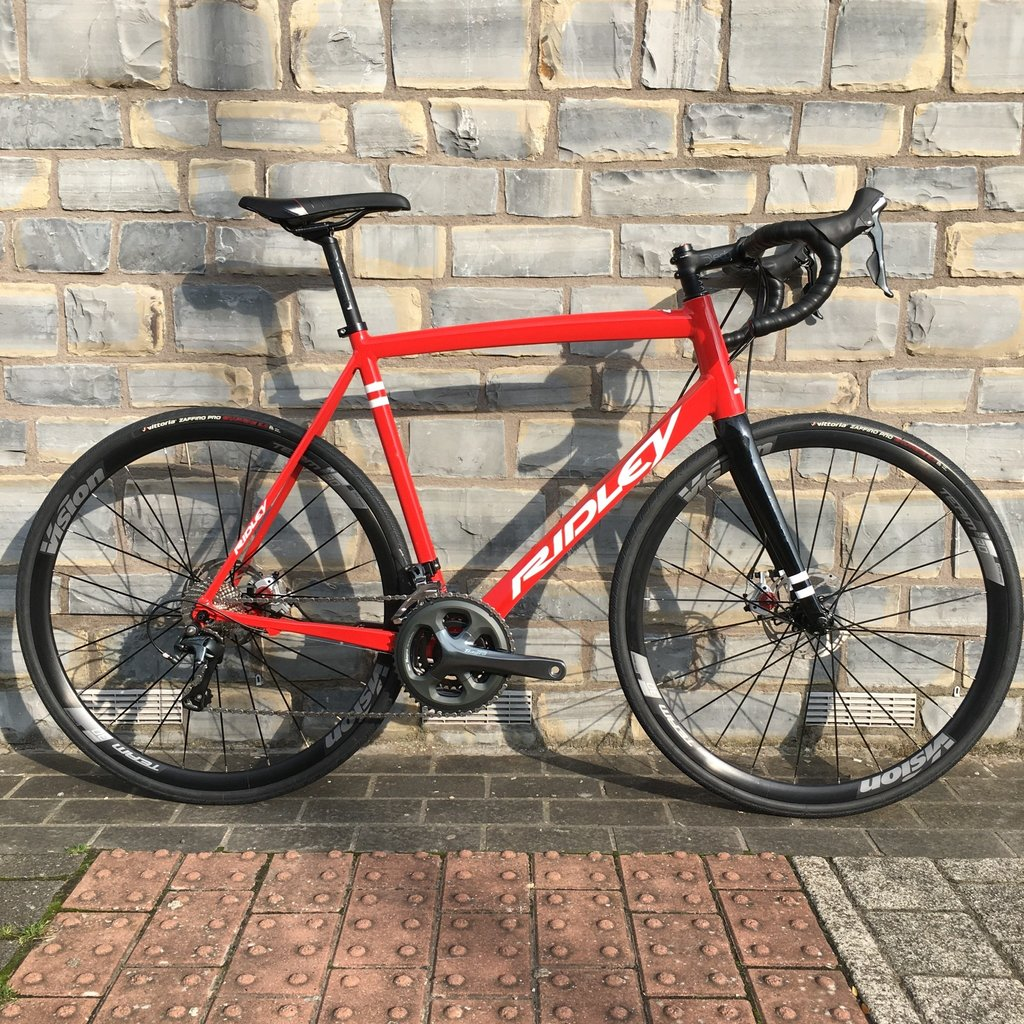 Ridley Fenix - Large - Red - 73 Degrees Build