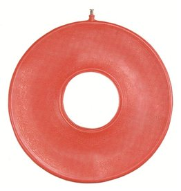Opblaasbaar rubberen ringkussen 46 cm