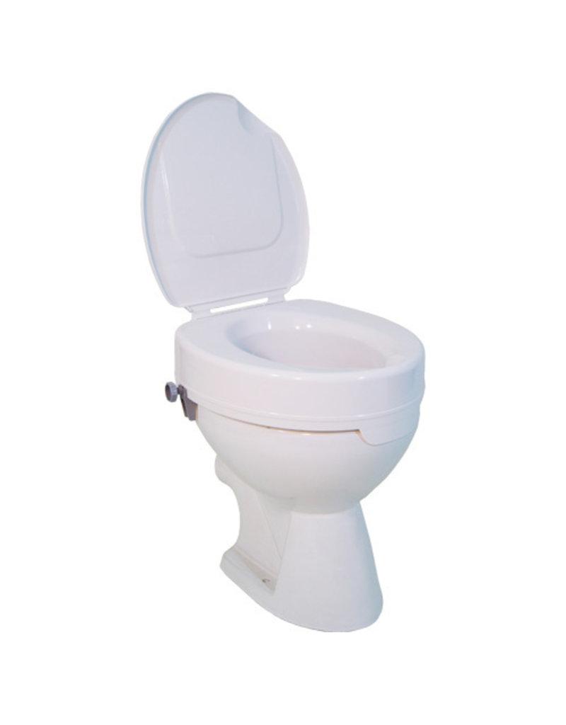 Toiletverhoger Ticco met deksel