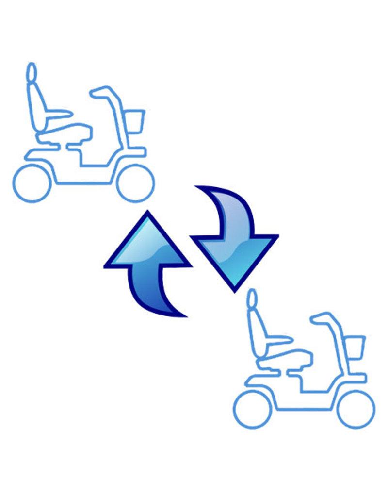 Vervangende scootmobiel bij onderhoud of reparatie