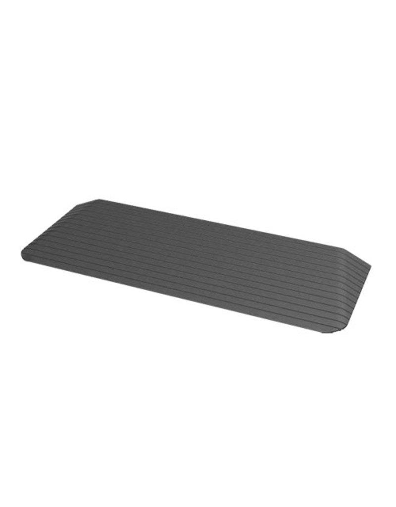Drempelhulp met schuine zijvlakken (2,5 x 20 x 90 cm)