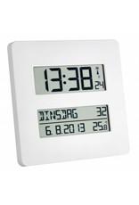 Radiografische klok met temperatuurweergave