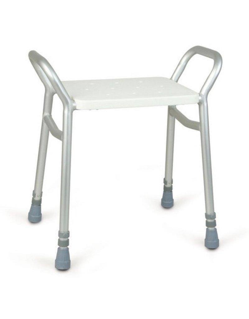 Douchekruk aluminium verstelbaar
