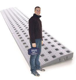 Drempelhulp modulair 2.4cm hoog Kit 0 met reistas