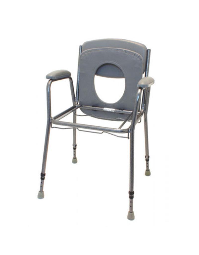 Toiletstoel TS130 met armleggers & rugleuning