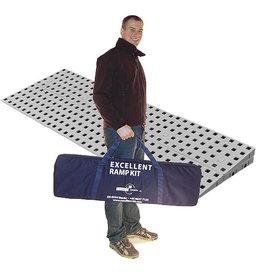 Drempelhulp modulair 4.2cm hoog Kit 1 met reistas