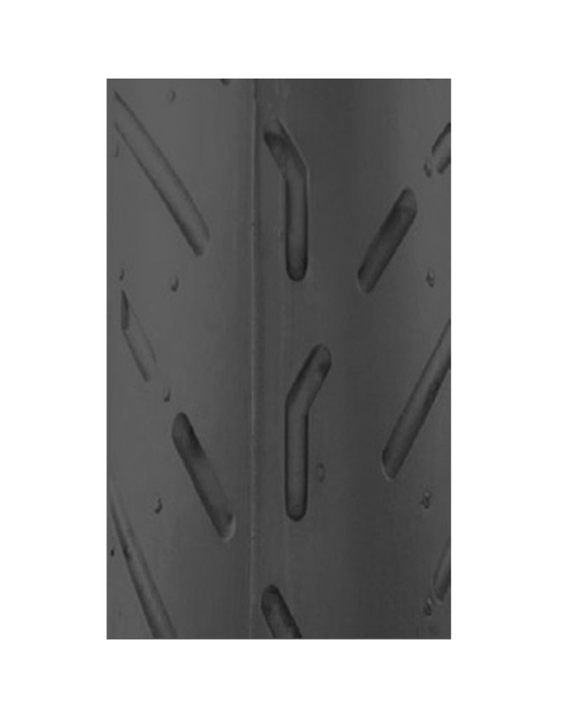 Buitenband 3.00-10 ZWART V-profiel