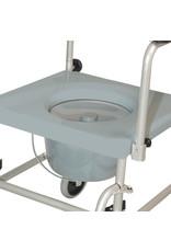 Toiletstoel TRS130 handig verrijdbaar