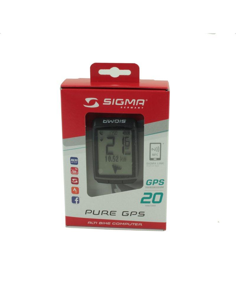 GPS-fietscomputer Pure van Sigma