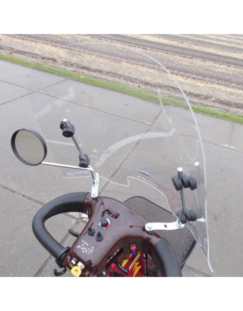 Scootmobiel Windscherm universeel