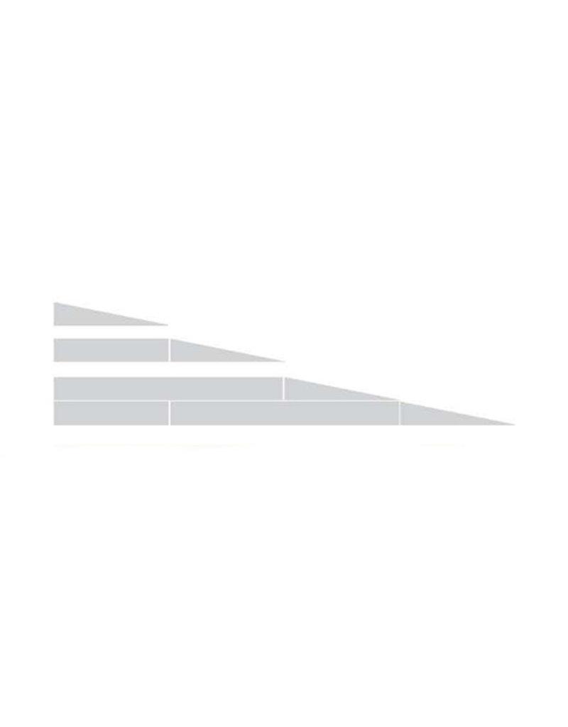 Drempelhulp modulair 7.8cm anti-slip met reistas
