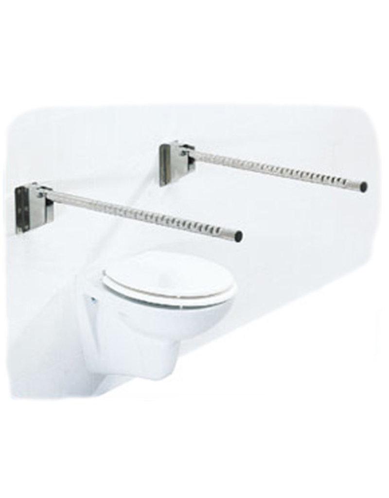 Toiletbeugel opklapbaar RVS - 85 cm