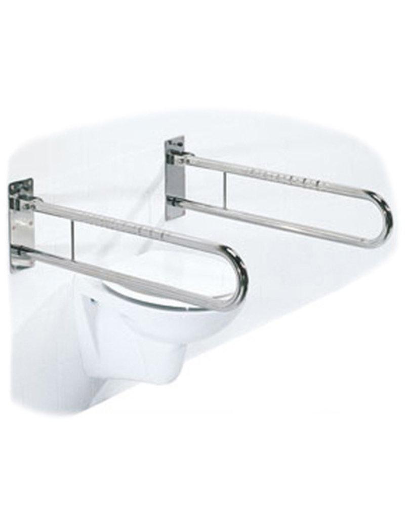 Toiletbeugel opklapbaar RVS - 60 cm