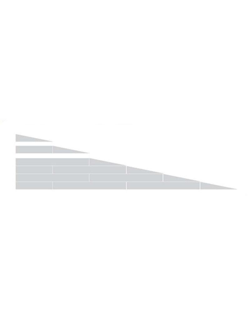 Drempelhulp modulair 11.4cm anti-slip met reistas