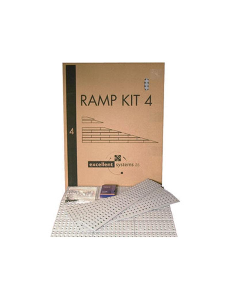 Drempelhulp modulair 15cm hoog Kit 4
