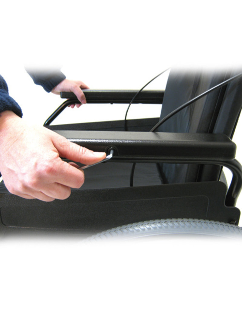 Freetec rolstoel - trommelrem - 43 cm