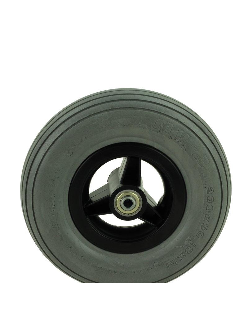 Band poly 200X50MM (8x2) met zwarte velg