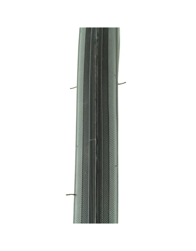 Buitenband 24x1 3/8 x 1 1/4 grijs visgraat GB (32-540)