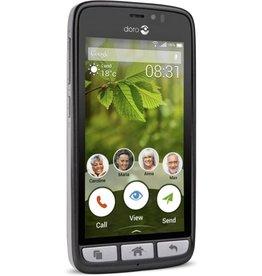 Doro 8031 smartphone zwart/staal