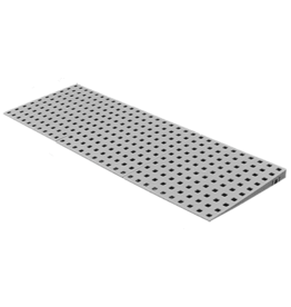 Drempelhulp set 1 voor buiten 1.8 tot 3.4 cm (H) x 125cm (B)