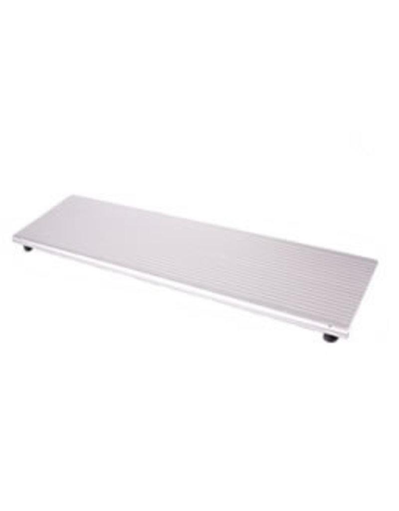 Hoogte instelbare aluminium oprijplaat