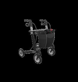 Lichtgewicht rollator Server Comfort Compleet - Zwart