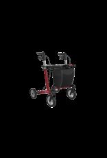 Lichtgewicht Rollator Server Comfort - Wijnrood