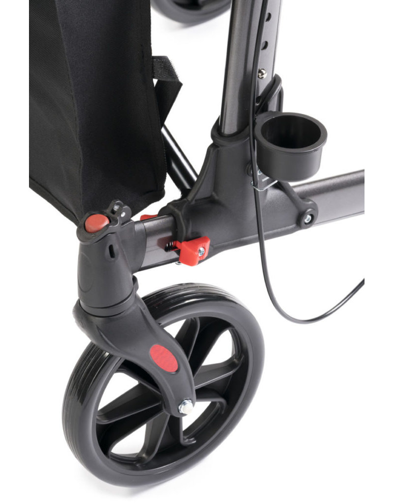 MultiMotion Double rollator antraciet
