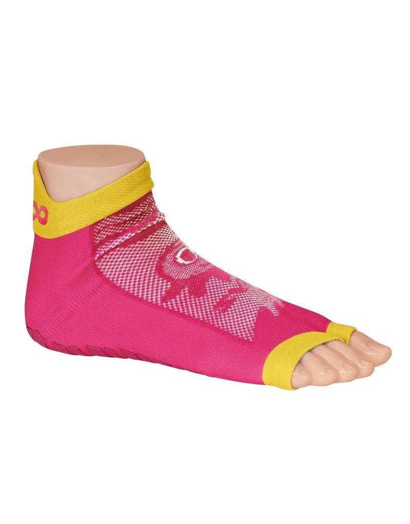 Sweakers Anti-slipsokken Kids roze Maat 35 - 38
