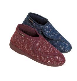 Pantoffels Betsy - burgundy, dames maat 41
