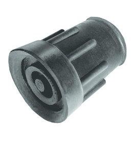 Kruk- en stokdoppen - 21 mm - Zwart