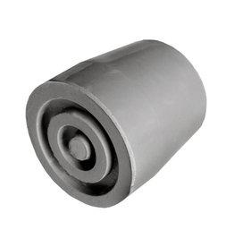 Kruk- en stokdoppen - 19 mm grijs