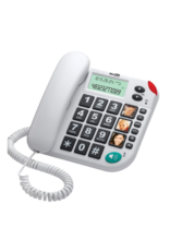 Maxcom KXT 480 huistelefoon wit/white