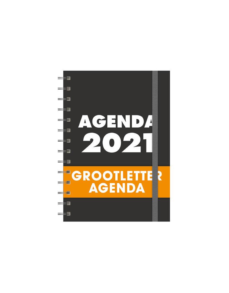 Slechtziend.nl B.V. Agenda met grote letters jaar 2021