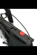 Streamer incl. luxe tas met klep zwart
