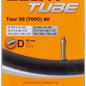 Continental Continental Tour 28 700c all binnenband 42 mm Dunlop Ventiel