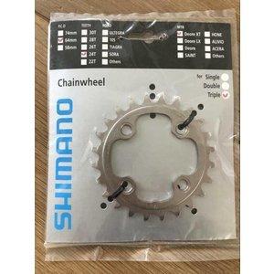 Shimano Shimano Deore XT FC-M780 kettingblad 24T 64 mm 10 speed