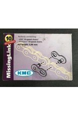 KMC KMC missing link 10-speed ketting zilver herbruikbaar