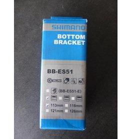 Shimano Shimano bottom bracket BB-ES51 - BSA - 68/113 mm trapas