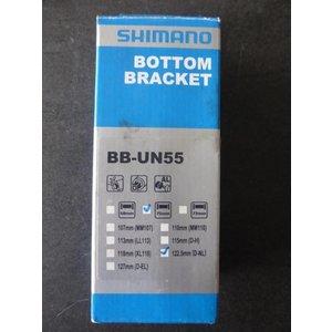 Shimano Shimano bottom bracket BB-UN55 - BSA - 70/122,5 m trapas